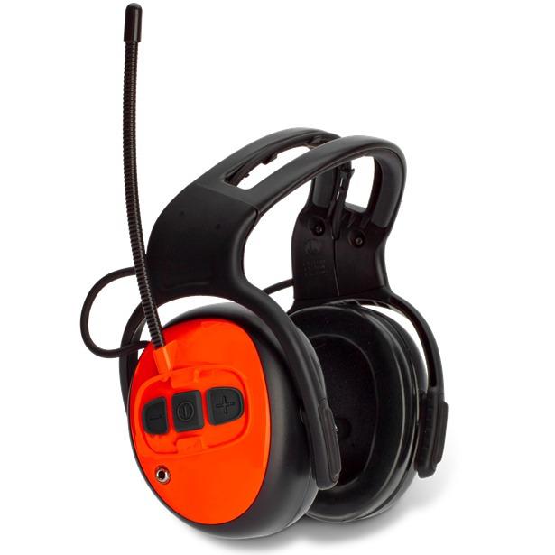 Auriculares protectores con Radio FM Husqvarna