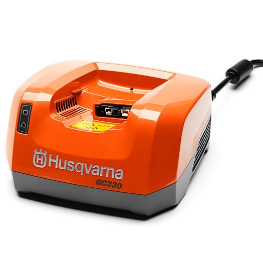 Cargador rapido bateria Husqvarna QC330