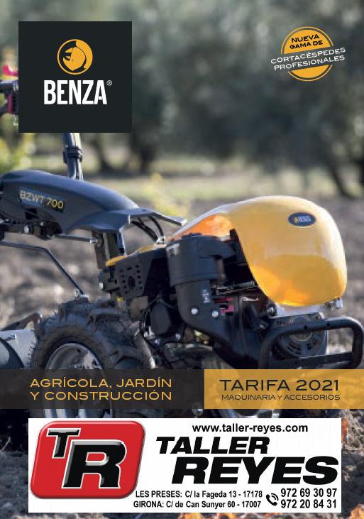 Catálogo general BENZA 2021