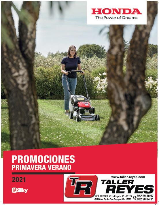 Catálogo Ofertas Primavera-Verano HONDA 2021