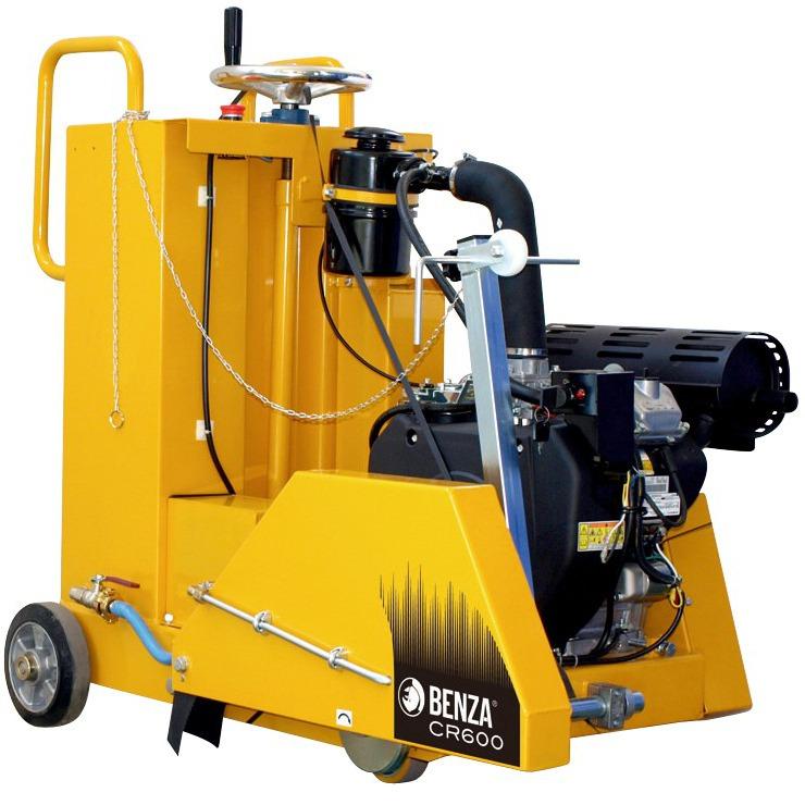 Cortadora de asfalto Benza CR600