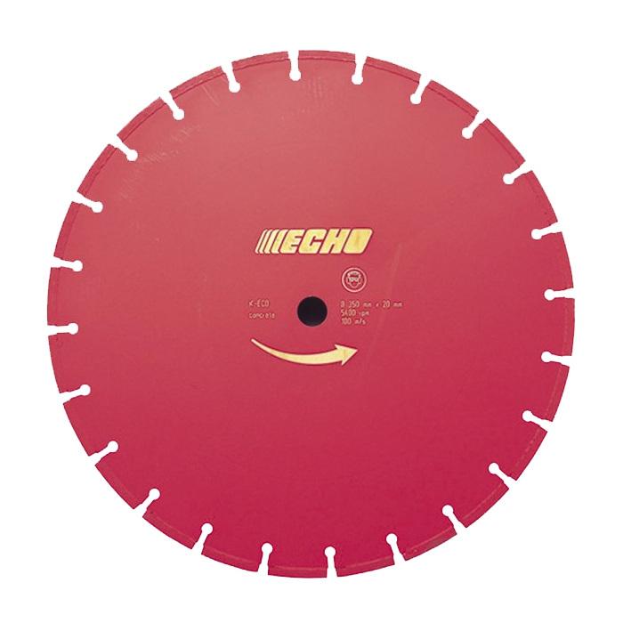Disco diamante Echo para cortar asfalto