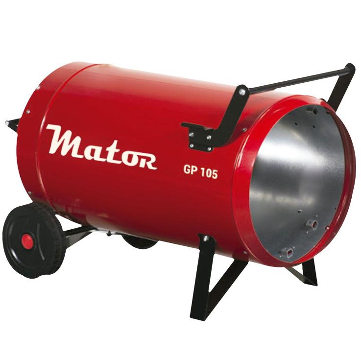 Generador aire caliente a gas Mator GP105A