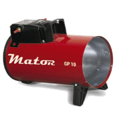 Generador aire caliente a gas Mator GP10M