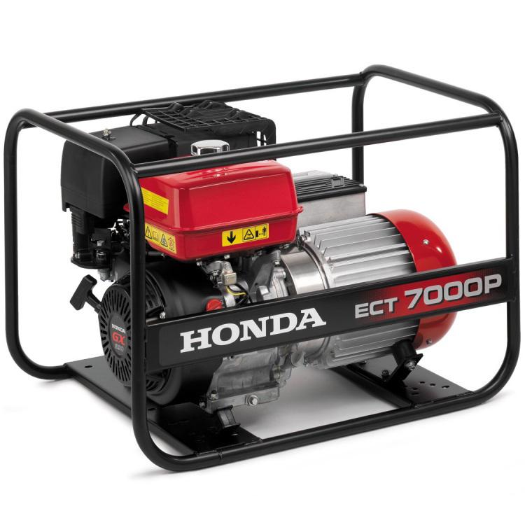 Generador Honda ECT 7000 P AVR trifásico