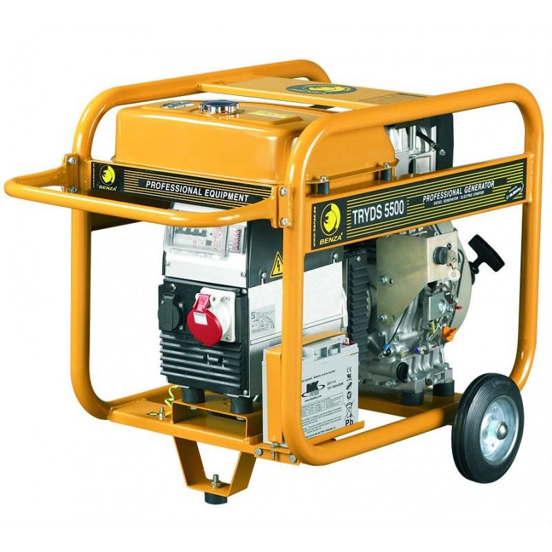 Generador trifásico Diesel Benza TRYD5500
