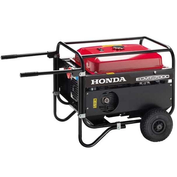 Generador trifásico Honda ECMT 7000