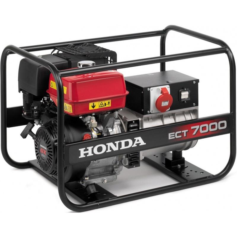 Generador trifásico Honda ECT 7000