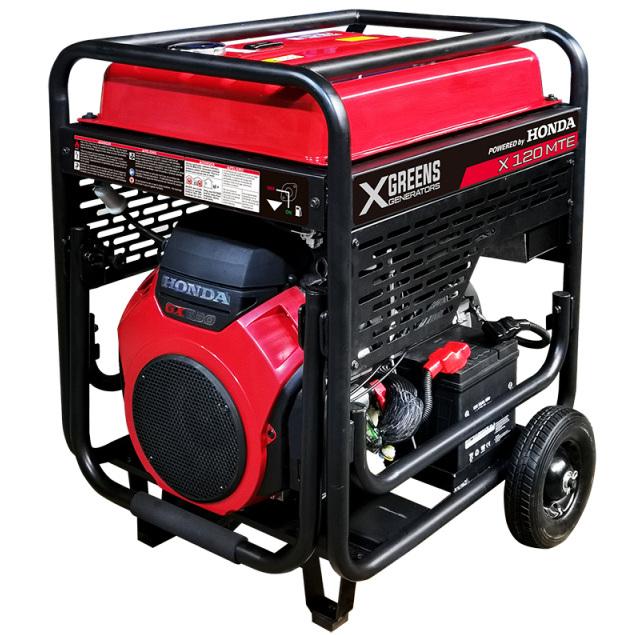Generador trifásico Honda X 120 MTE