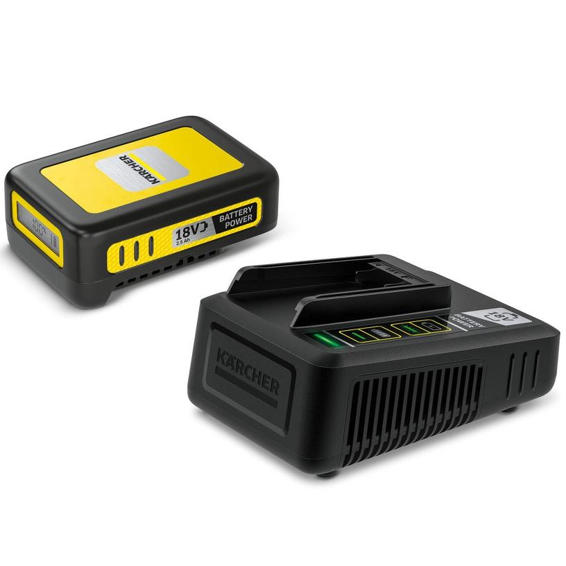 Kärcher Starter Kit Battery Power 18 V 2,5 Ah - Batería y cargador