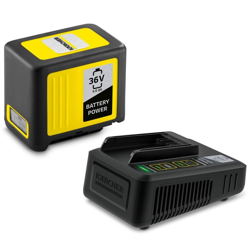 Kärcher Starter Kit Battery Power 36 V 5,0 Ah - Batería y cargador