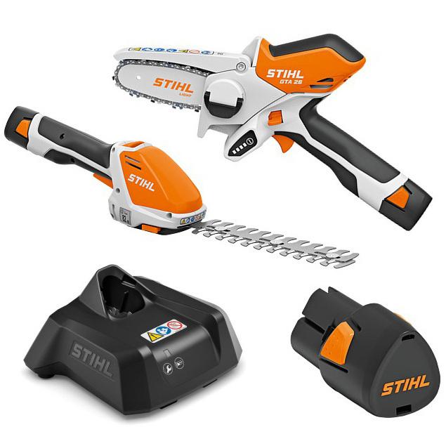 Kit Stihl GTA 26 + HSA 26 + bateria + cargador