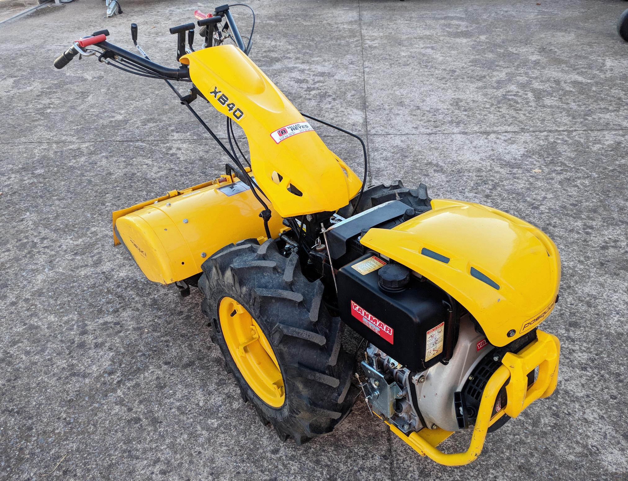 Motocultor Pasquali XB40 Diesel con Starter (Ocasión)