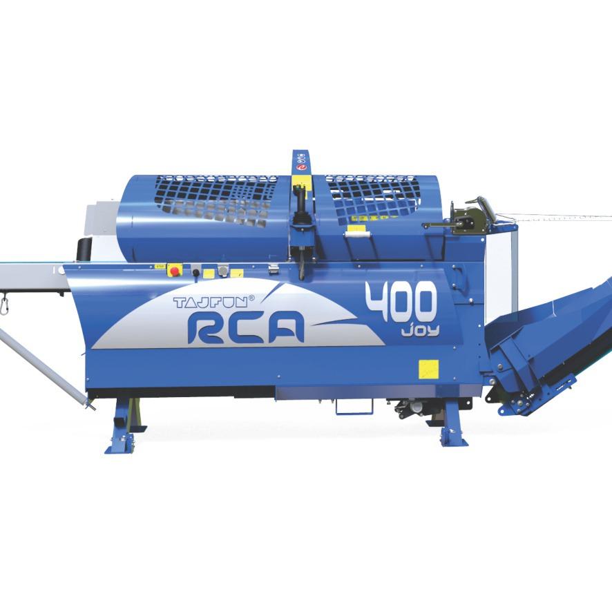 Procesadora de leña Tajfun RCA 400 Joy