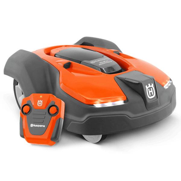 Robot teledirigido Husqvarna Automower de juguete