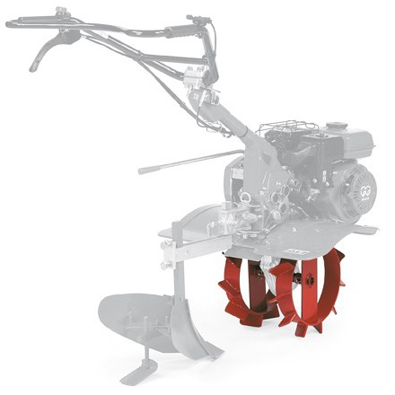 Ruedas metálicas motoazadas Honda (27 cm)