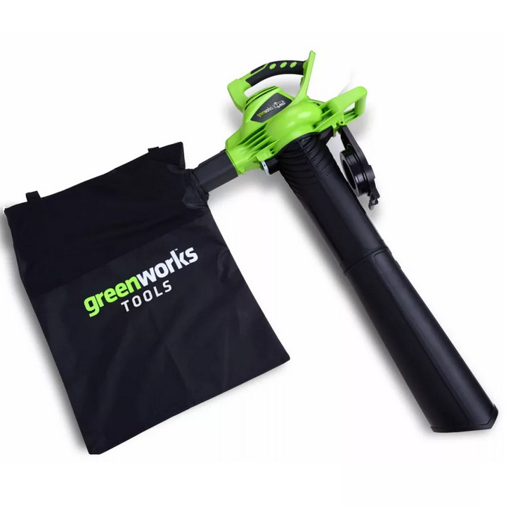 Soplador-aspirador batería Greenworks GD40BV