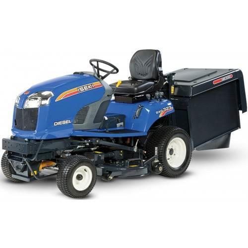 [Alquiler] Tractor cortacésped Iseki SXG 323 Diesel